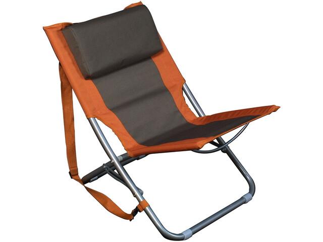 Relags Travelchair Beach - Taburetes plegables - naranja/marrón